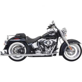 BASSANI TRUE DUALS WITH FISHTAIL MUFFLERS