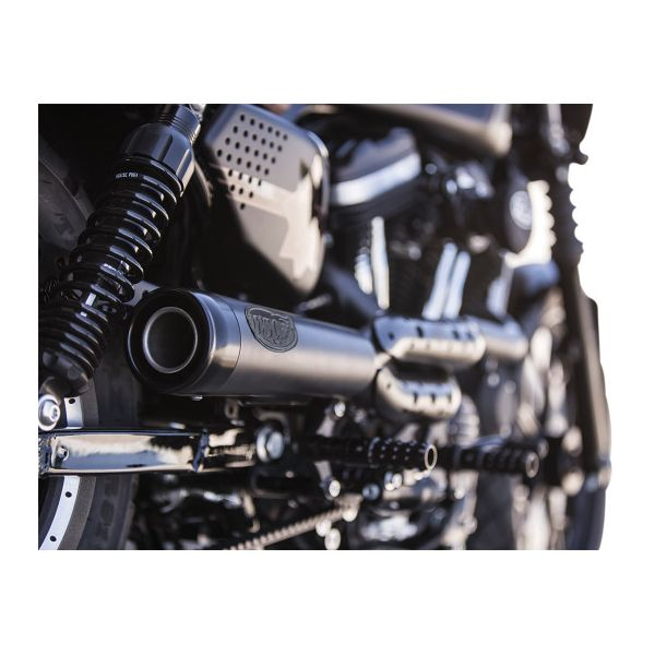 TRACK 2-INTO-1 EXHAUST SYSTEM - SOFTAIL - LCS Motorparts