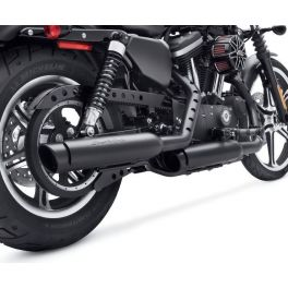 Screamin' Eagle Street Cannon Slip-On Mufflers - Sportster Shorty Dual-LCS64900322