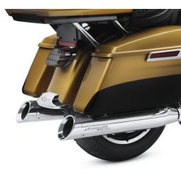 Screamin' Eagle Street Cannon Performance Slip-On Mufflers - LCS64900552