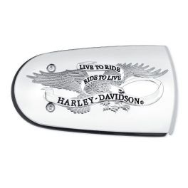 Harley-Davidson® Live To Ride Air Cleaner Trim - LCS61300219