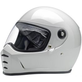 Capacete Lane Splitter Biltwell - Gloss White