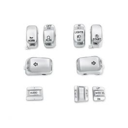 Chrome Switch Cap Kit - LCS7180803