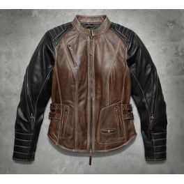 Women's Capitol Leather Jacket - LCS9810516VW