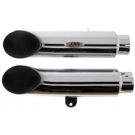 Turn Out Exhaust Pipes (NON-BAFFLED) - 111-1041