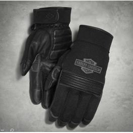 Men's Stark Mesh & Leather Gloves LCS98387-16vm
