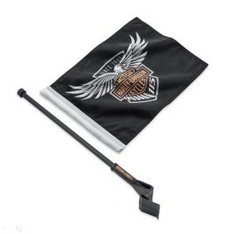115th Anniversary Flag Kit - Tour-Pak Mount - LCS61400523