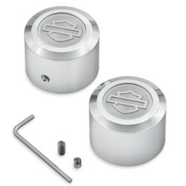 Aluminator Billet Front Axle Nut Covers - LCS44114-07