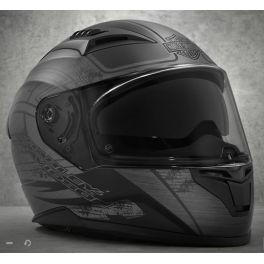 Metallic Graphic Sun Shield M05 Full-Face Helmet - LCS98228-18VX