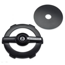 Screamin' Eagle Round Air Cleaner Cover - Ratchet - LCS61300845