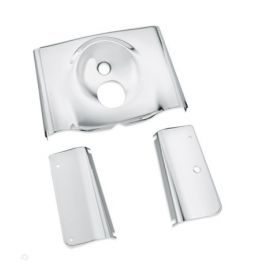 Smooth Chrome Fork Cover Kit- - LCS66440-05