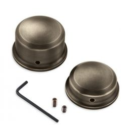 Brass Rear Axle Nut Covers - LCS43000050