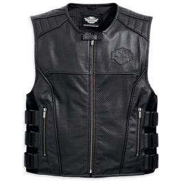VEST-SWAT II and LTHR and BLK - LCS98101-16VM