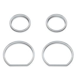 Defiance Gauge Bezels - 4-Piece Fairing Kit- LCS61400359