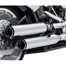 Screamin' Eagle Street Cannon Mufflers - Chrome - Long - LCS64900690