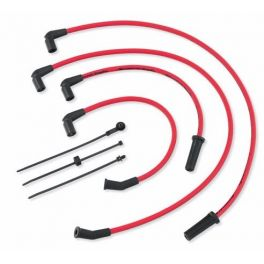New Arrival Screamin' Eagle 10MM Phat Spark Plug Wires - Red - LCS31600109