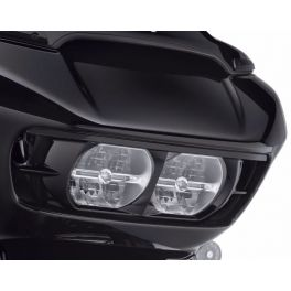 Road Glide Headlamp Trim - Gloss Black - LCS61400412DH