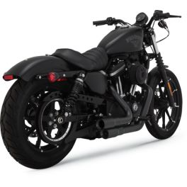 EXHAUST M-GREN.BLK XL