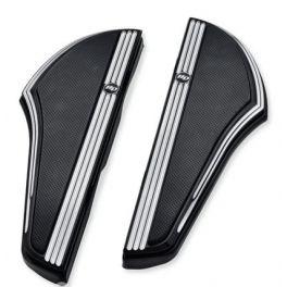 Defiance Rider Footboard Kit - Black Anodized Machine Cut - lcs50500798