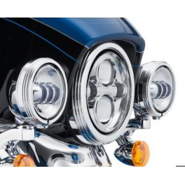 4 in. Defiance Auxiliary Lamp Trim Rings - LCS61400353