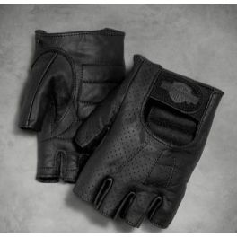 Men's Perforated Fingerless Gloves - LCS9818299VM