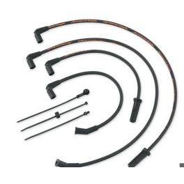 Screamin' Eagle 10MM Phat Spark Plug Wires - Black - LCS31600108