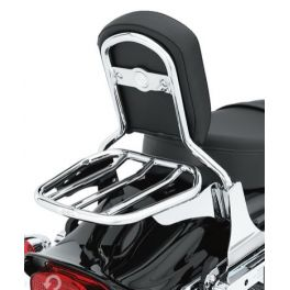 Custom Tapered Sport Luggage Rack- Chrome - LCS5395306