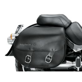 H-D Detachables Leather Saddlebags - Smooth - LCS90200616A