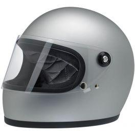 Capacete Gringo S Biltwell - Flat Silver