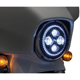 "HEADLIGHT LED 7"" VISION - 2001-1523"