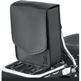 BLACK STANDARD LINE SISSY BAR/SOLO BAG - LCS93300114