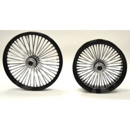 WHEEL KING SPOKE SET - MDW BLACK