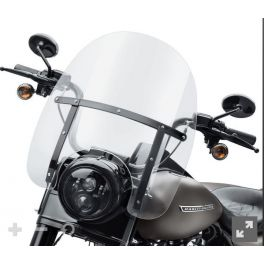 Road King H-D Detachables Windshield - 18 in. - LCS57400381