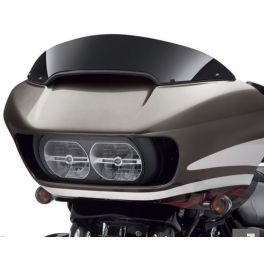 Road Glide 6 in. Contoured Wind Deflector - Black - LCS57400280