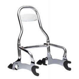 "12"" Quick Release Passenger Sissy Bar - Chrome"