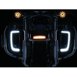 GRILL LOWER TRACER LED BK  - 2040-2592