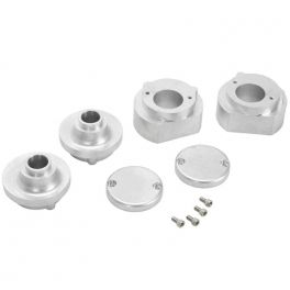 COMPLETE SOLID MOTOR MOUNT KIT FOR 2004 - UP / SPORTSTER XL