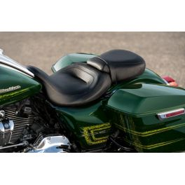Low-Profile Passenger Pillion - Black Smooth Vinyl - LCS52400141