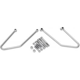 CHROME SADDLEBAG SUPPORT BRACKETS
