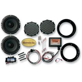 "6 1/2"" TITAN II SPEAKER UPGRADE KIT WITH UNIVERSAL TITAN AMPLIFIER"