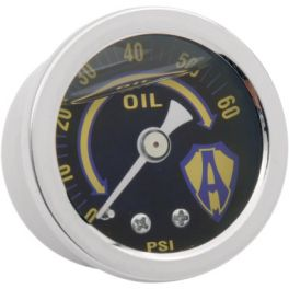 LIQUID-FILLED OIL PRESSURE GAUGE