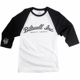 3/4 Sleeve Jersey - White/Black