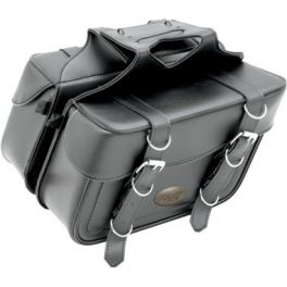 BOX-STYLE SLANT SADDLEBAGS