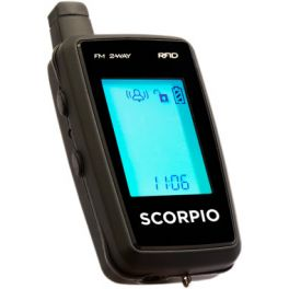 SCORPIO SR-I900 RFID/TWO-WAY FM SECURITY SYSTEM