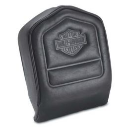 Low Backrest Pad with Embossed Bar & Shield Logo LCS5241279A