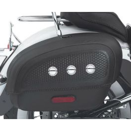 Locking Rigid Saddlebags for Softail Deluxe Models-LCS5301505B