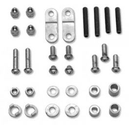 CHROME NACELLE HARDWARE KIT LCS6789796B