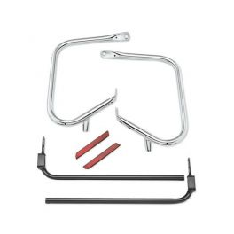 CHROME REAR SADDLEBAG GUARD KIT LCS4928209B