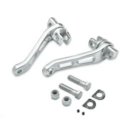 Billet Style Rider Footpeg Heel Rest Levers LCS5022701