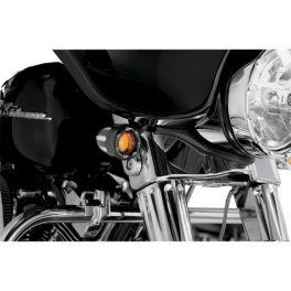 DEEP CUT FACTORY STYLE TURN SIGNALS W/ LED FIRE RING